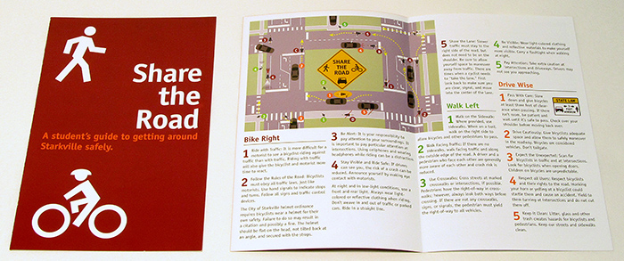 Share the Road brochure