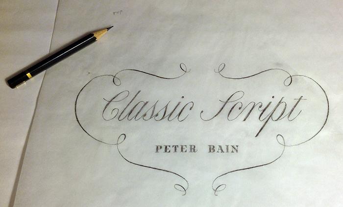Classic Script Peter Bain