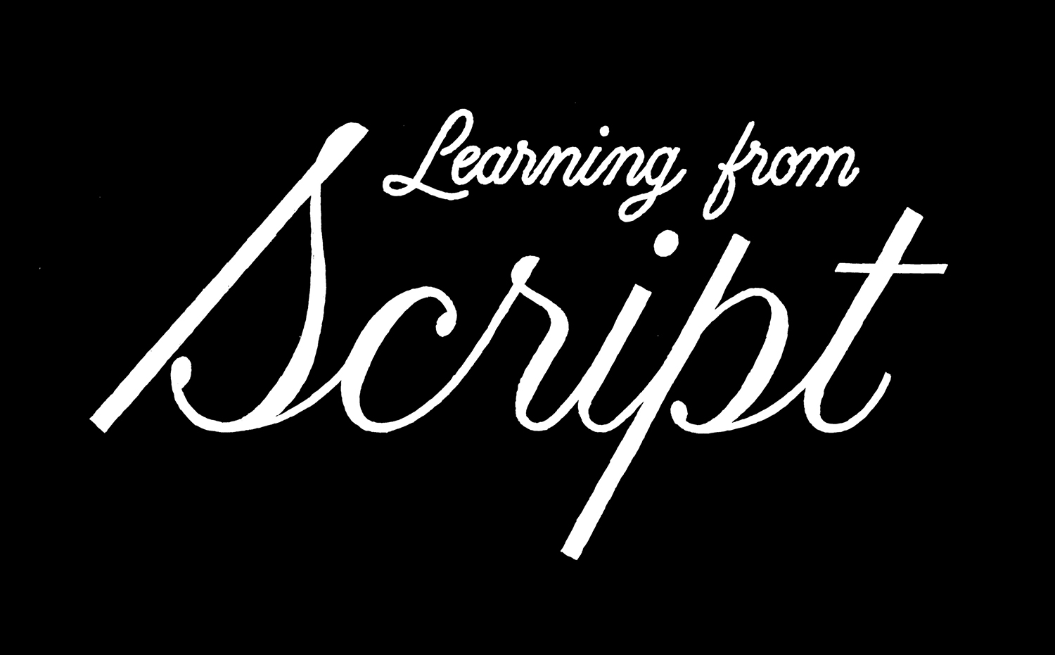 Learning from Script logo